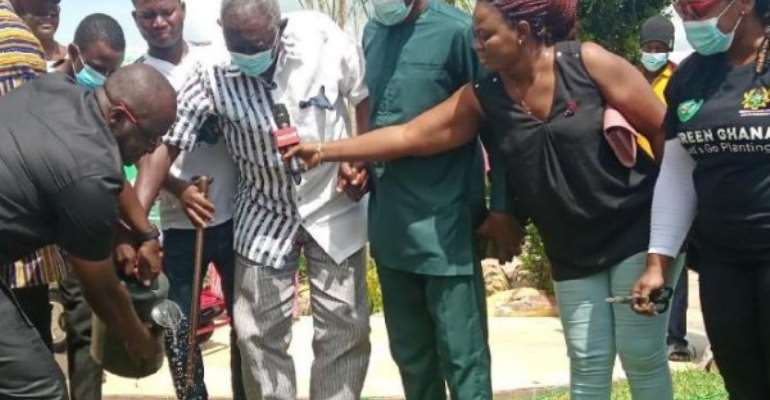 Kufuor joins tree planting