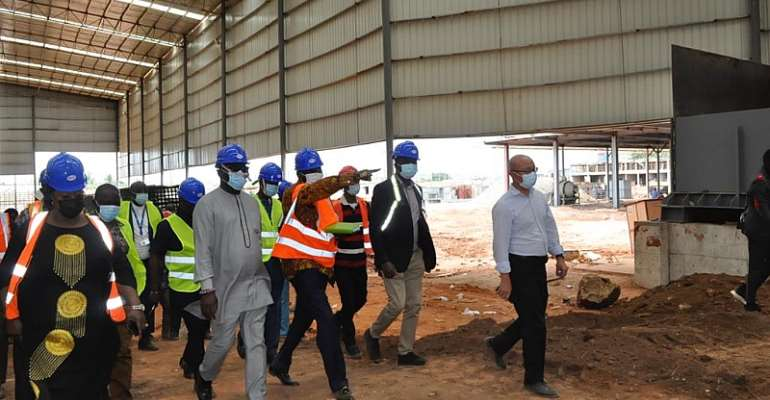 MPs assess allegations against new cement factory near Panbros Salt at Weija