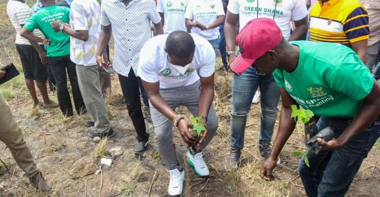"""Let us make Ghana green"" – Prince Kamal Gumah rallies support for tree planting exercise"