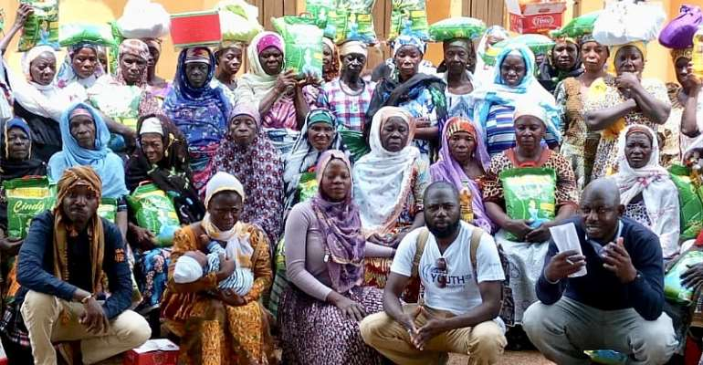 Ramadan: SEDARVP Ghana Gives To Widows, Orphans In Tamale