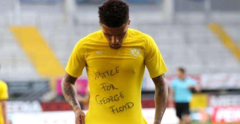 Sancho Reveals George Floyd Message Against Paderborn