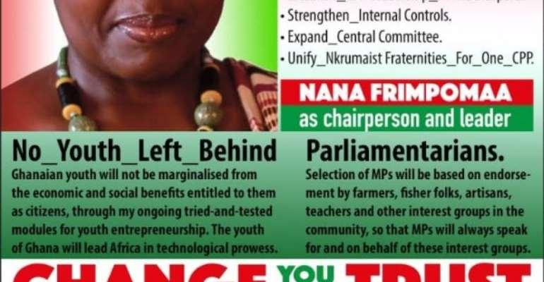 Overhaul CPP Into Formidable Party – Nana Frimpomaa-Sarpong