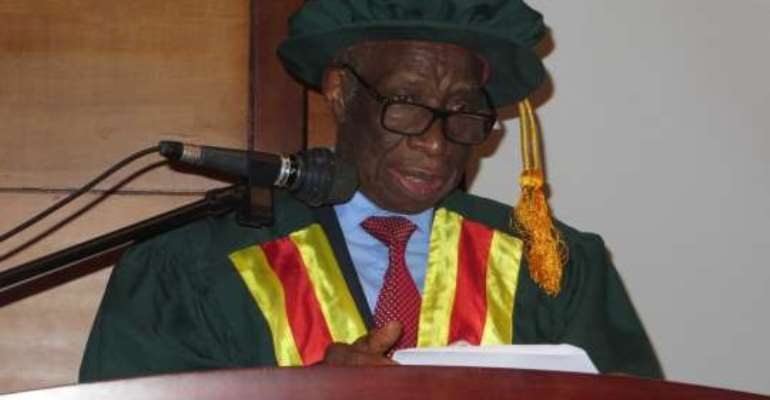 Study of Mathematics on the decline in Africa - Prof Allotey
