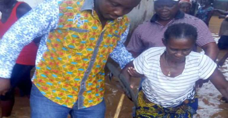 Over 300 Rendered Homeless In Axim