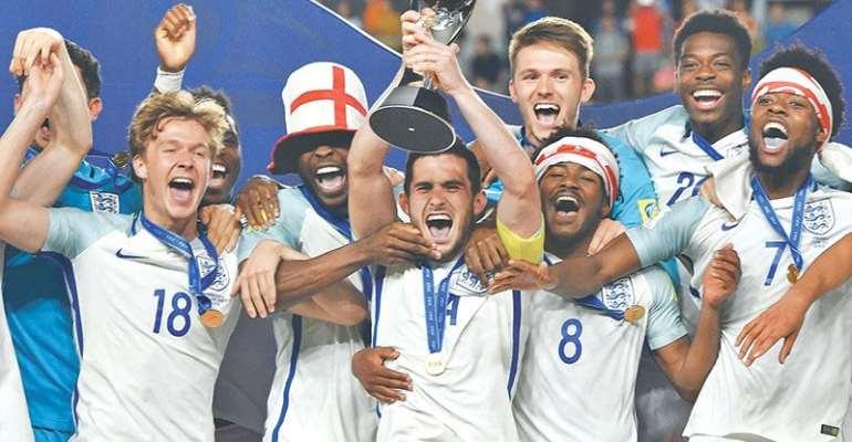 England Clinch U-20 World Cup