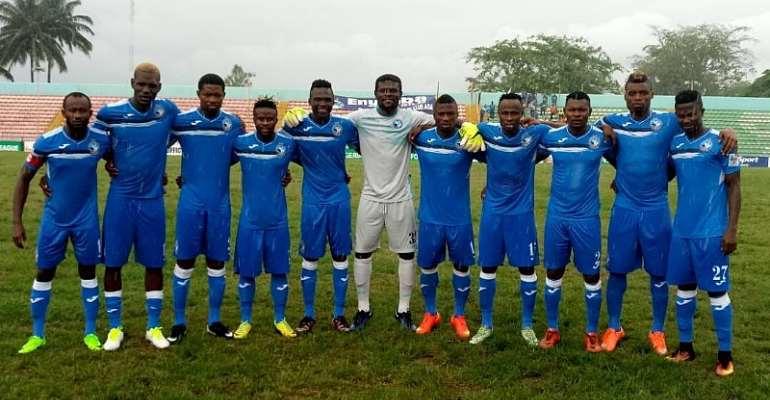 Ghana goalkeeper Fatau Dauda slowly making a name for himself in the Nigerian Premier League