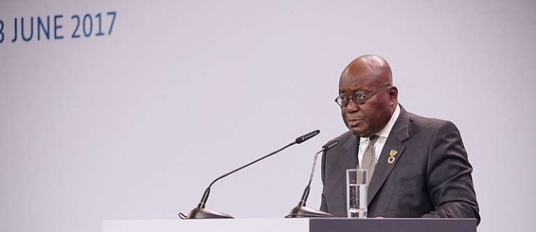 Stop depending on charity – Akufo-Addo to African leaders