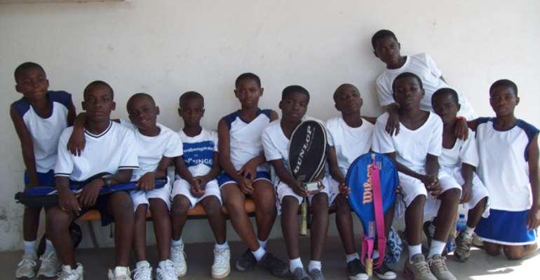 The Kids of the La Constance Tennis Center