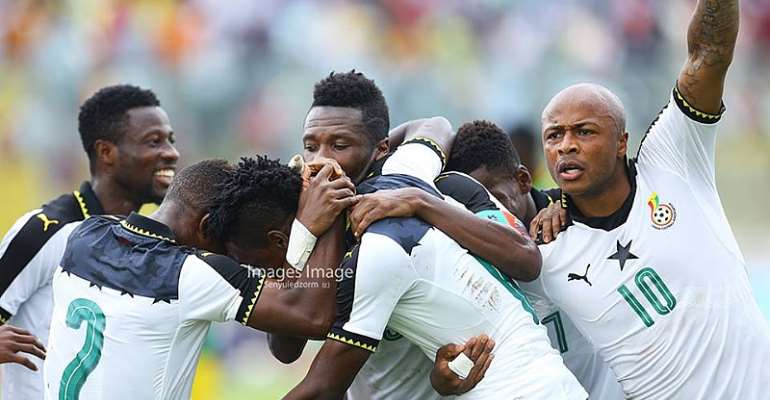 Black Stars Wallop Walias Antelops 5-0 In Kumasi