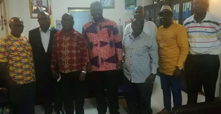 GHALCA Seven Member Committee Meets Sports Minister Over Gov't Decision To Dissolve GFA