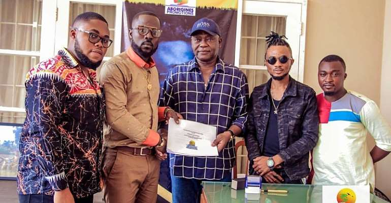 JJ Gonami Inches A 5 -Year Music Deal With Aborigines Promotions.