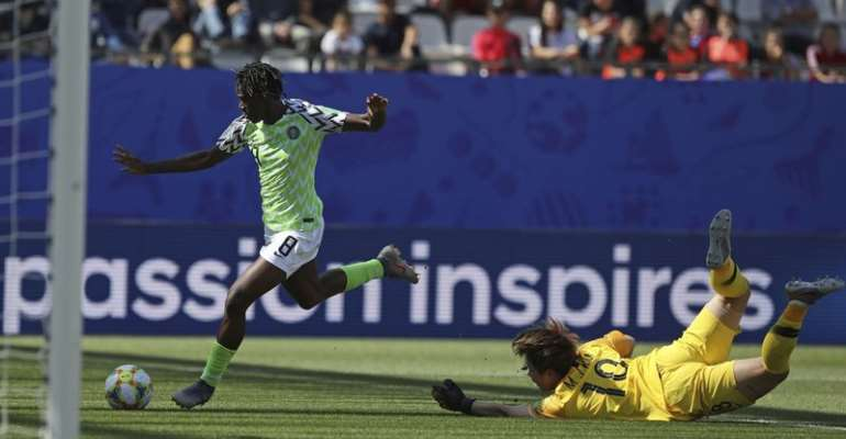 Nigeria 2-0 South Korea: Super Falcons Record First Victory At World Cup