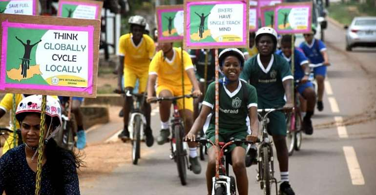 DPS International Promotes Cycling For Good Health