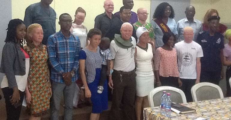 2012 TV3's GMB Winner Appointed Ambassador Of Persons With Albinism
