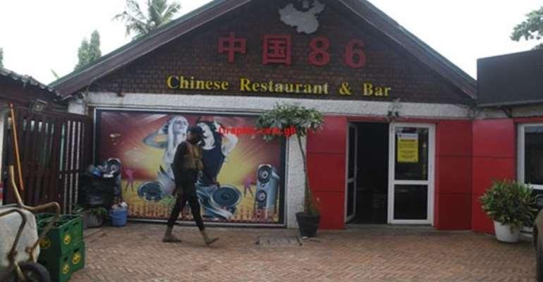 Chinese Restaurant Shut Down