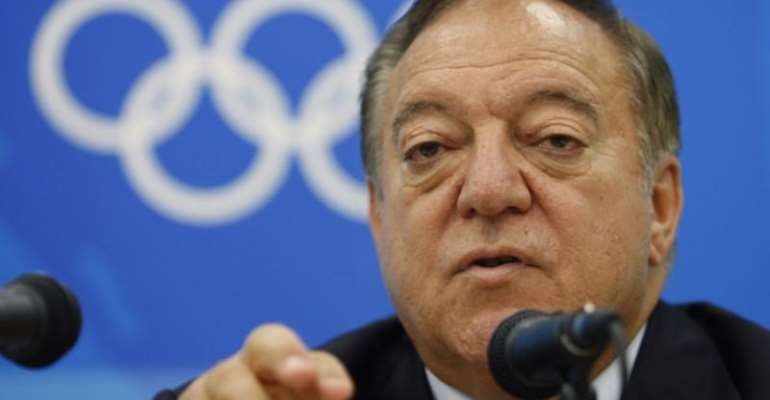 International Weightlifting Federation (IWF) President Tamas Ajan of Hungary