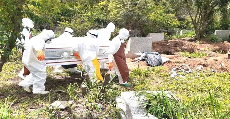 Covid-19: Five More Persons Buried In Accra