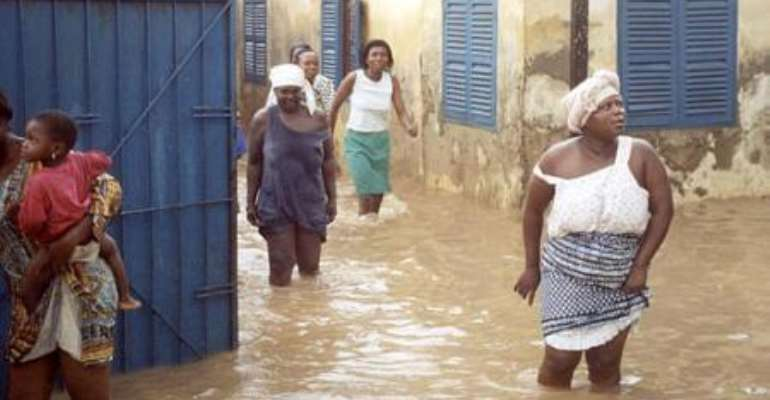 Accra Hit By Floods Again