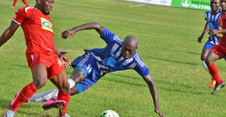 Kumasi Asante Kotoko sweating over the fitness of new striker Saddick Adams