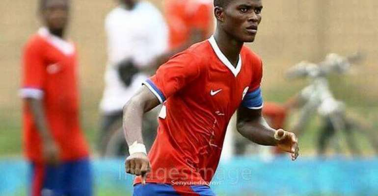 Ghanaian policeman Samuel Sarfo goes from protecting national team to playing for them in just under a year