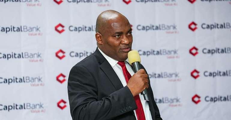 Reverend Fitzgerald Odonkor, Managing Director of Capital Bank