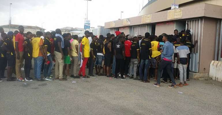 PHOTOS: Massive turn out as Ghana hits five past Ethiopia in AFCON 2019 qualifier