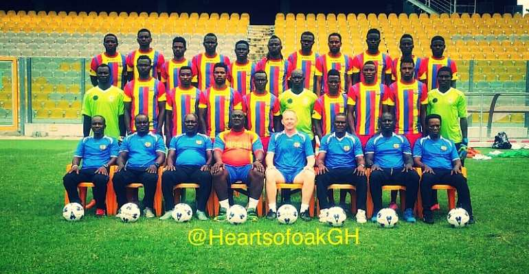 Hearts deny 'false' reports of being denied access to Accra stadium