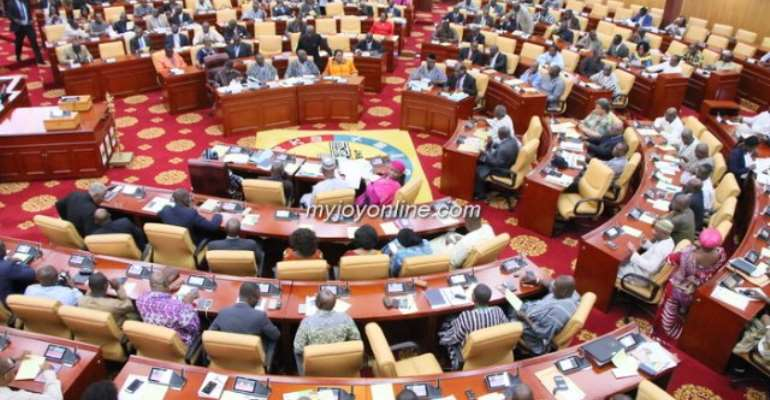 Akufo-Addo charges parliament to exercise full authority over public finances