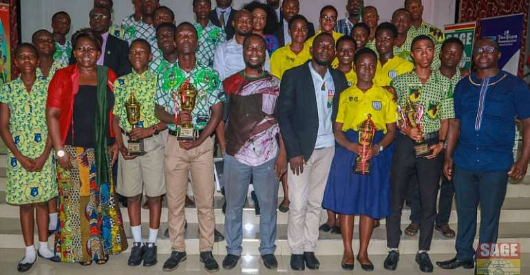 SAGE Early Bird and SAGE Methodist Girl High Schools wins the 2017 National Entrepreneurship Cup