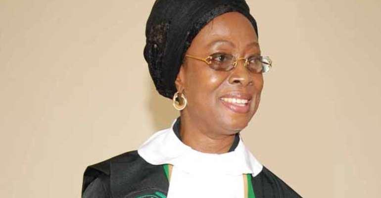 Supreme Court Judge Sophia Akuffo