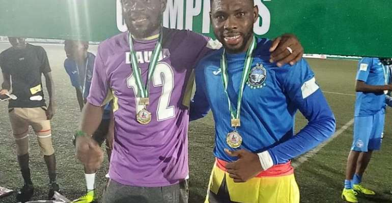 Fatau Dauda And Farouk Mohammed Clinches Nigeria Premier League Title With Enyimba FC