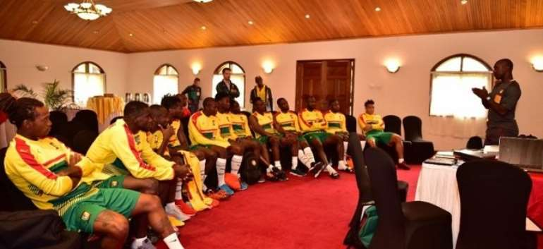 AFCON 2019: Ghana's Group F Contenders, Cameroun Pitch Camp In Doha