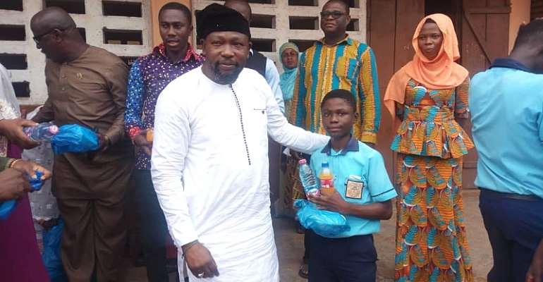 Nasara Youth Coordinator Fetes Kanda BECE Candidates