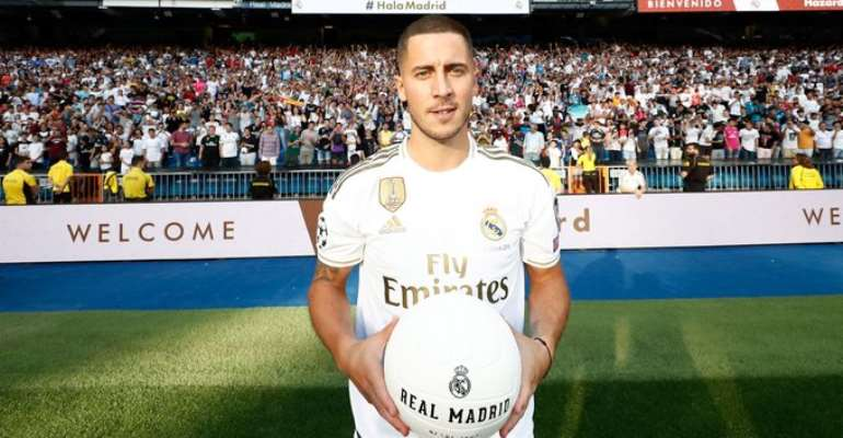 Watch The Full Presentation Of Eden Hazard At Real Madrid [VIDEO]