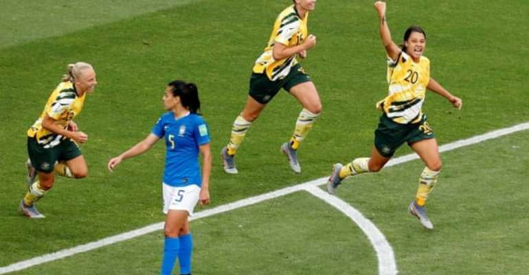 Women's WC: Australia Fight Back As Brazil Suffer First Group-Stage Defeat In 24 Years