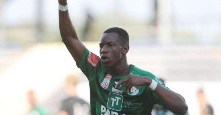 Kelvin Yeboah Scores In Swarovski Tirol's 3-0 Win Against Admira Wacker In Austria