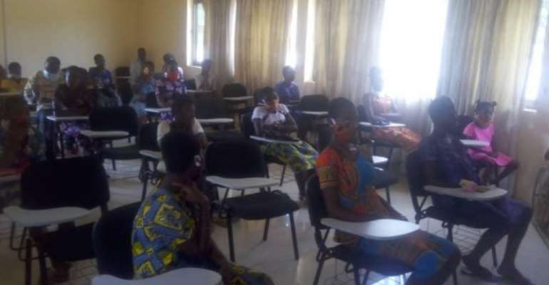 Out Of School Adolescent Girls Sensitised On Reproductive Rights