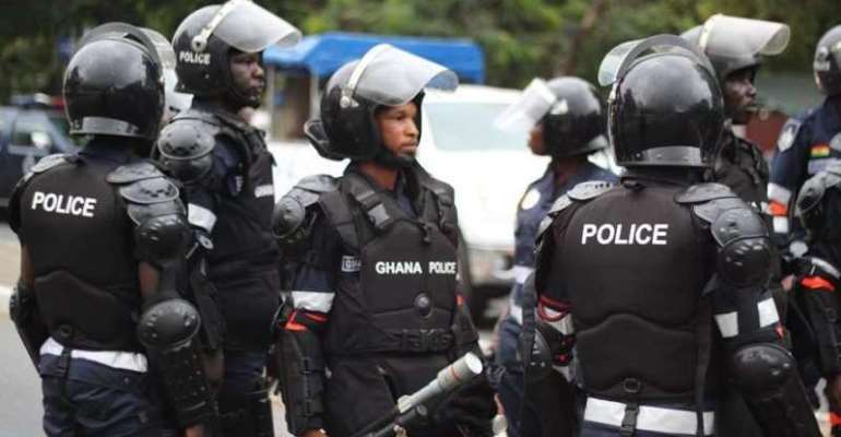 Police shoots suspected robber on Fiesta Royal-GIMPA junction