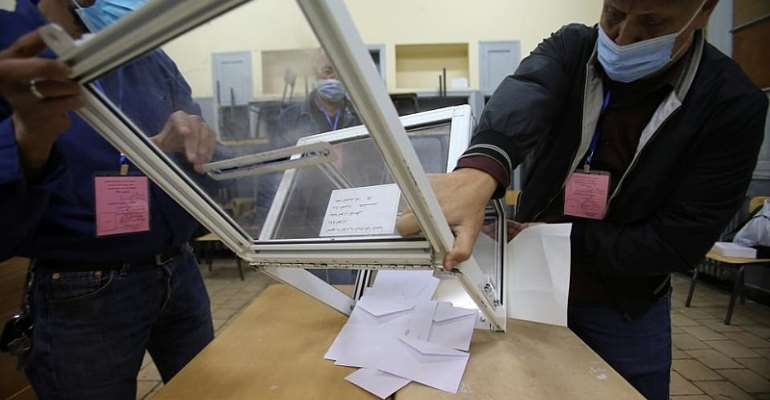 Algeria awaits results after voters snub election