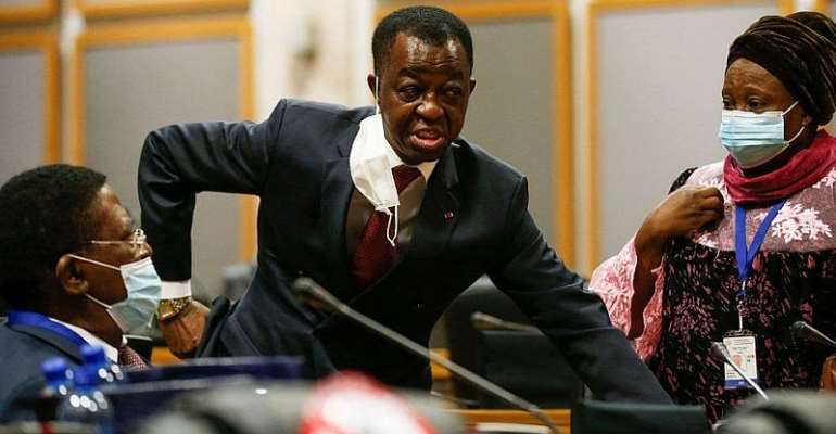 Members trade punches, kicks and issue death threats at Pan-African Parliament