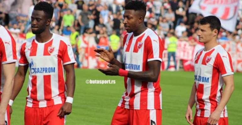 Ghanaian defender Akwasi Frimpong returns to Red Star Belgrade for pre-season