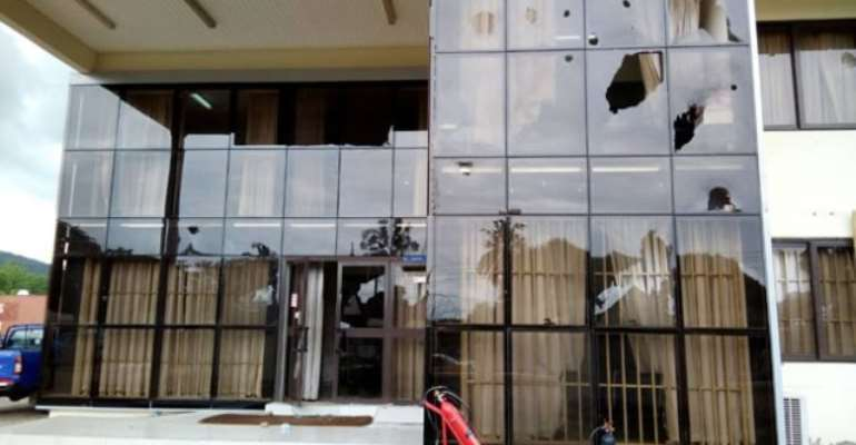 Guarantee our safety before we'll resume work – ECG workers to Somanya residents
