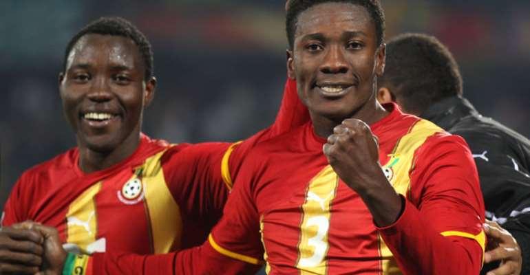 Asamoah Gyan confirms date for Kwadwo Asamoah's Ghana return