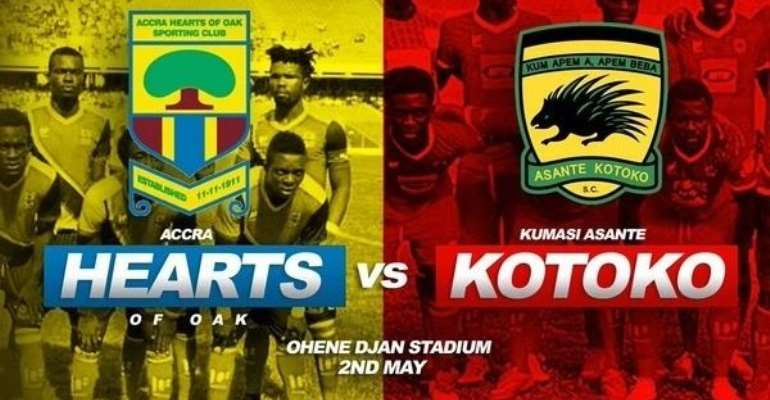 Hearts to face sworn rivals Kotoko in 2017 President Cup on July 2 in Kumasi
