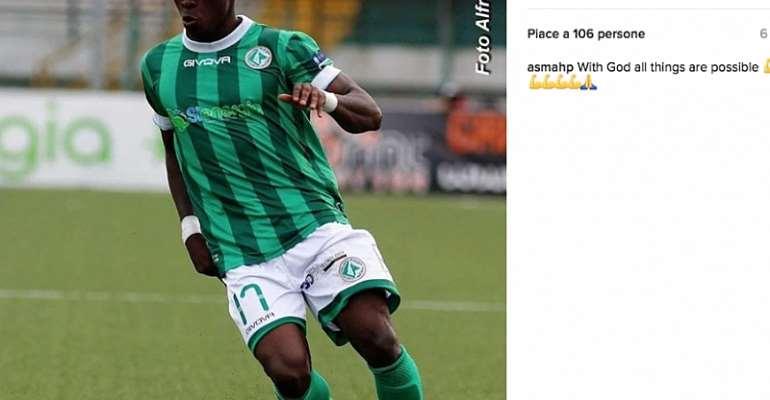 EX-Ghana youth defender Patrick Asmah eyes regular playing spot at Italian side Atalanta