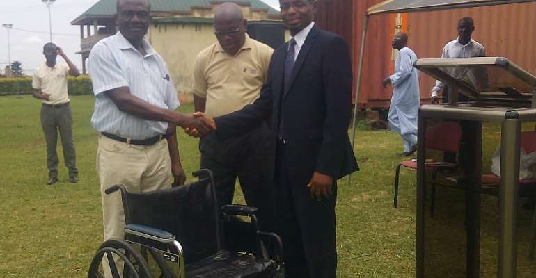 Minister Lauds SDA Church For Supporting People With Disability
