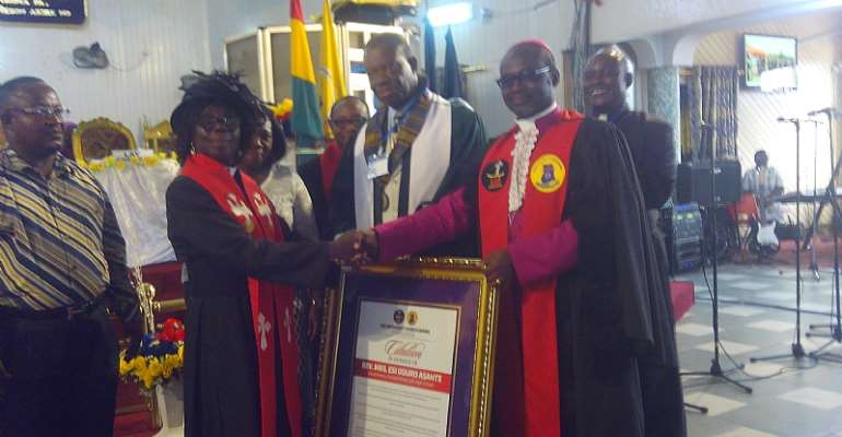 Methodist Church Honours K'WeGeyhey Headmistress