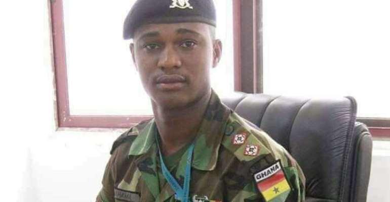 Late Maj. Maxwell A. Mahama