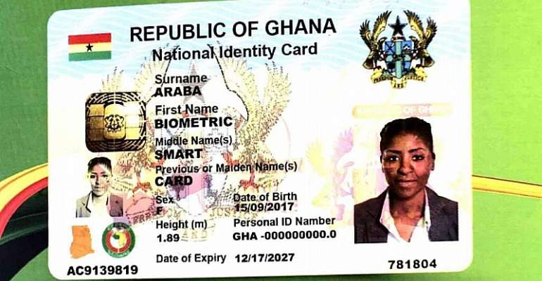 Workable Solutions Necessary For The Smooth Issuance Of The Ghana Card