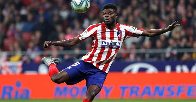Thomas Partey To Stay At Atletico Madrid For Another Year?